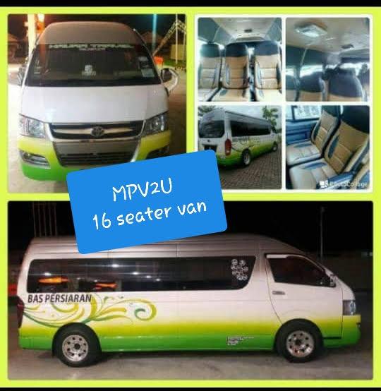 MPV2U Mini Van Singapore to Genting Highland